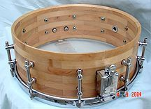 Segment drum - such a better idea than a stave Acoustic Drum, Drum Music, Drummer Boy, Snare Drum, Percussion, Cartier Love Bracelet, Musical Instruments, Really Cool Stuff, Woodworking