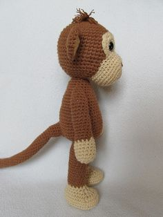 Sweet Monkey Julie Amigurumi Crochet Pattern / PDF by DioneDesign