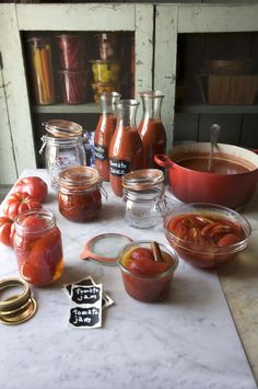 Site has lots more recipes for canning and preserves other than just tomatoes.