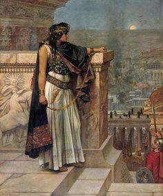 """"""" L'Ultimo Sguardo della Regina Zenobia su Palmira """" H.Schmalz"""