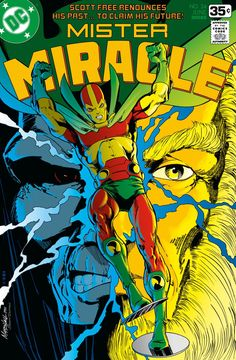 Mister Miracle No. 24 Cover by Marshall Rogers
