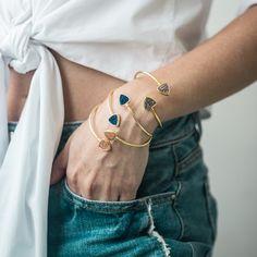 Druzzy Bracelet Delicate, Bracelets, Gold, Jewelry, Fashion, Bangles, Jewellery Making, Moda, Jewels