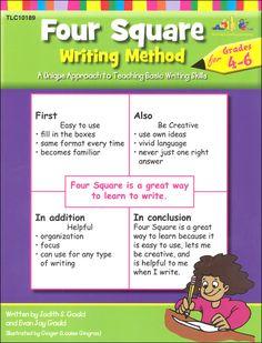 Four Square Writing Method Grades 4-6 | Main photo (Cover)