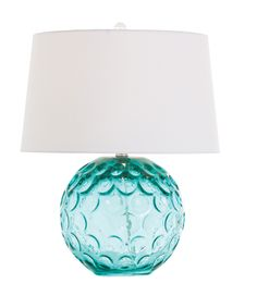 Bali Ball Lamp - Sky Blue