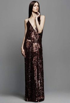 Tom Ford Sequin Embellished Gown