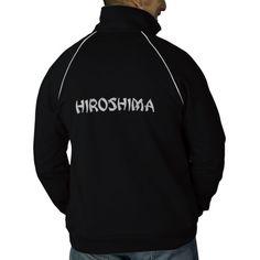 HIROSHIMA TRACK JACKET #japan #track #jackets #fashion #activewear #embroidered #casual #sports #workoutgear #fitness #hiroshima #exercise