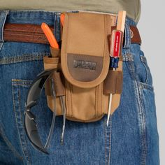 Tool Pouch - Fire Hose and Leather Hold Everything - Duluth Trading
