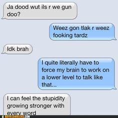 The Random Life of Jessica Dalka: Stupid Boy Texts.