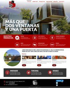 Maqueta de Sitio Web para Modular Project