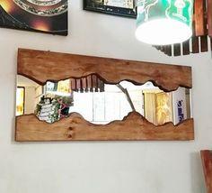 Masif Çam Salon ve Boy Aynası - MKA29