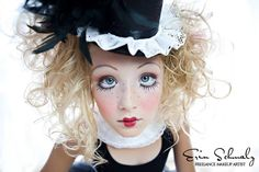 Halloween makeup - Marionette Doll