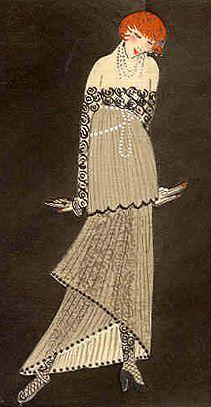 Paul Poiret Evening Dress - 1914 - Salome - @Mlle