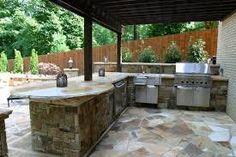8 Good Cost Of Outdoor Kitchen Image Cost Of Outdoor Kitchen . 8 Good Cost Of Outdoor Kitchen Image. Covered Outdoor Kitchens, Outdoor Kitchen Grill, Modern Outdoor Kitchen, Outdoor Living, Outdoor Spaces, Backyard Kitchen, Patio Bar, Backyard Patio, Kitchen Bar Design