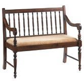 Found it at Wayfair - Deacon's Walnut Bench