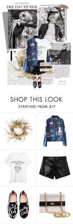 """""""2016.024 : Baekhyun"""" by oh-pororo ❤ liked on Polyvore featuring Thos. Baker, WithChic, Mason by Michelle Mason, Kate Spade, Chanel, women's clothing, women, female, woman and misses"""