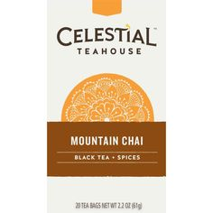 Celestial Seasonings Mountain Chai Tea, 20 Count (Pack of 6) ** Want to know more, click on the image. (This is an affiliate link) #ChaiTea