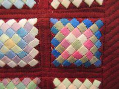 5mm pieces 横田弘美 Yokota Hiromi Queenie's Needlework: Tokyo International Great Quilt Festival 2015 - 4 Framed Quilts