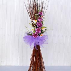 Decorazione fiori artificiali Rosita fucsia euro 35,00