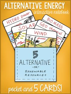 This will be used in groups to learn and play games with these 5 alternative energy cards. We can ask questions about each or try to write about each one of them in our science notebook. (Center Time). AG