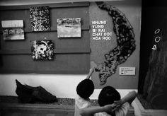 Trẻ em trong bảo tàng Chứng tích chiến tranh, TP HCM.1980
