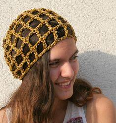 Summer crochet hat. Cotton hat Crochet beanie. by EllenaKnits, $21.00