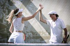 TENNIS – Sport, Charm and Art Experience créditos: Ali Karakas Ali, White Shorts, Tennis, Charmed, Sports, Women, Fashion, Events, Hs Sports