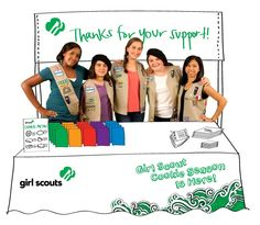The Girl Scout Cookie Program is coming to a town near you. When you buy a box of yummy cookies, you're helping girls learn more than you think.