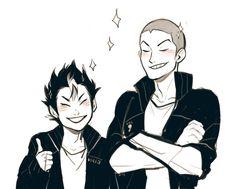 Saeko keeps the boys stylish (3/4)