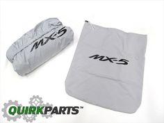 2006-2015 Mazda Miata MX-5 Gray Weather Resistant Car Cover OEM NEW #Mazda