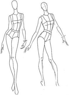 Fashion Designer Templates Amusing Body Kun & Body Chan  Figurines Manga Pour Artistes  Fashion .