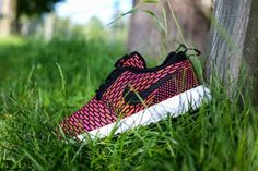 new arrival f3bc5 957a3 Nike Flyknit Roshe Run Berry Black 677243 004 Running Shoes USA Sale 2015  Sneaker Magazine,
