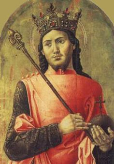 """Saint Louis stands in history as the ideal king of the middle ages. An accomplished knight, physically strong in spite of his ascetic practices, fearless in battle, heroic in adversity, of imperious temperament, unyielding when sure of the justness of his cause, energetic and firm, he was indeed """"every inch a king."""" Joinville says that he was taller by a head than any of his knights. His devotions would have worn out a less robust saint. He fasted much, loved sermons."""