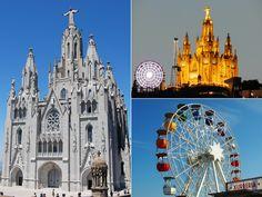 Tibidabo - Highlights of Barcelona – The Girls Who Wander The Girl Who, Barcelona Cathedral, Wander, Highlights, Spain, Girls, Travel, Little Girls, Viajes