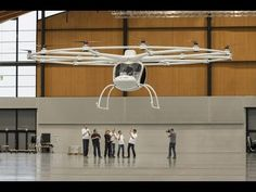 E-volo's 18-Rotor Electrical Volocopter Takes Off for the First Time