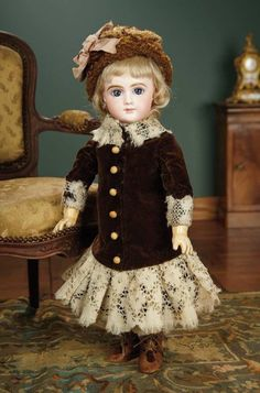 French Bisque Bebe by Thuillie... Auctions Online | Proxibid