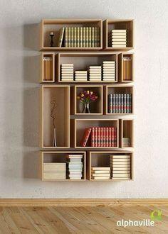 Hermoso diseños ! Para mi futura biblioteca