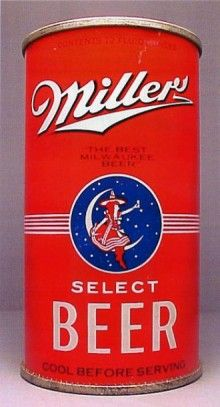 Miller Select Beer Can