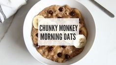Yum! After a tough workout this morning I decided to treat myself with a well-deserved delicious breakfast. Lately, I've been on an oatmeal kick so I decided to put together some of my favorite ingredients (banana, chocolate and peanut butter) into one delicious combo! This recipe takes minutes to m