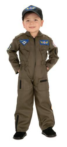 Air Force Pilot Child Costume                                                                                                                                                     More