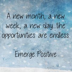 New Day Quotes Yay For A New Day And A New Month A Fresh Start A Break From Any .