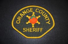 Orange County Sheriff Patch, California (Vintage 1983-2000 Issue)