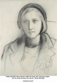 Marie-Thérèse Walter by  Picasso -