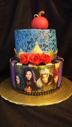The Decendant cake