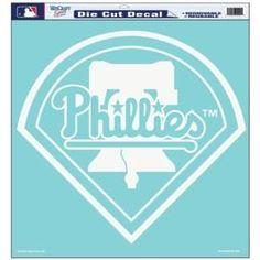 Philadelphia Phillies Decal 18x18 Die Cut #PhiladelphiaPhillies