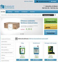 Nuevo e-commerce Guadalimp Suministros