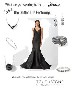 Prom by christen-olnhausen-frenkel on Polyvore featuring polyvore, fashion, style, Touchstone Crystal and clothing