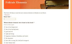 folktales for third graders -- listening, small groups, google forms