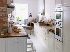 IKEA kitchen inspirations gallery 15 of 19 - Homelife Ikea Kitchen Design, Modern Kitchen Design, Kitchen Interior, Home Interior Design, Kitchen Living, New Kitchen, Kitchen Ideas, Rustic Kitchen, Cocinas Kitchen