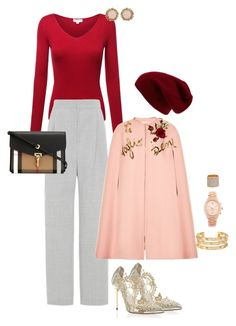 """87-3"" by afashionpage on Polyvore featuring Oscar de la Renta, Sole Society, Vika Gazinskaya, Dolce&Gabbana, Burberry, River Island, Tory Burch, Kendra Scott, Michael Kors and PersonalStyling"