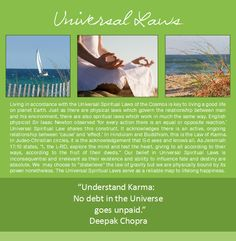 Summer, Sailboat, Ocean, Beach, Meditation, Seagrass, Universal Laws, Law of Attraction, Karma, Karmic Debt, Deepak Chopra